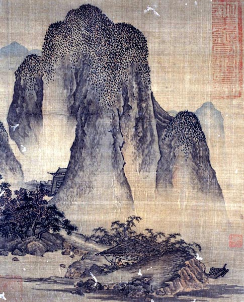 Landscape in the Style of Fan Kuan, (14th - 15th century)