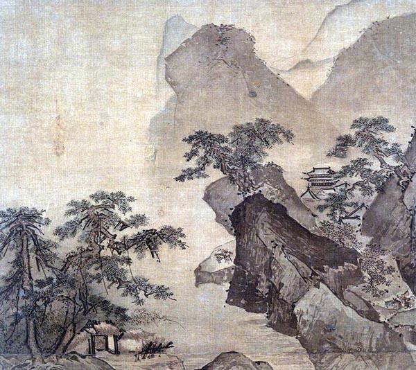 Mountain Landscape, Li Di (early 15th century)