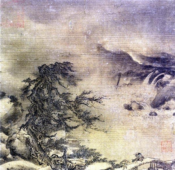 Winter Landscape, Li Shan (12th century)