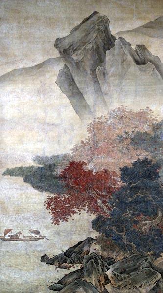 Autumn Storm on the River, Liu Songnian (16th century)