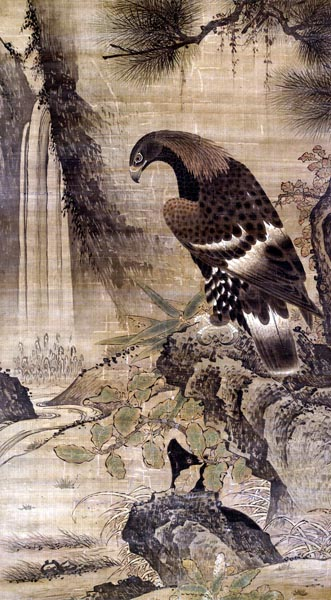 Eagle in a Landscape Setting, late 15th – early 16th century