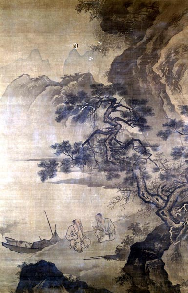 Fishermen in Conversation, Ma Yuan (late 15th - early 16th century)