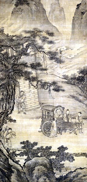 Laozi Passing the Barrier, late 15th – early 16th century