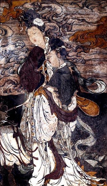 Taoist Figure Facing Left, 16th Century