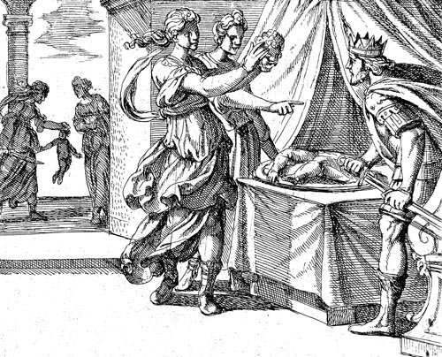 Procne Revealing Itys's Head to Tereus