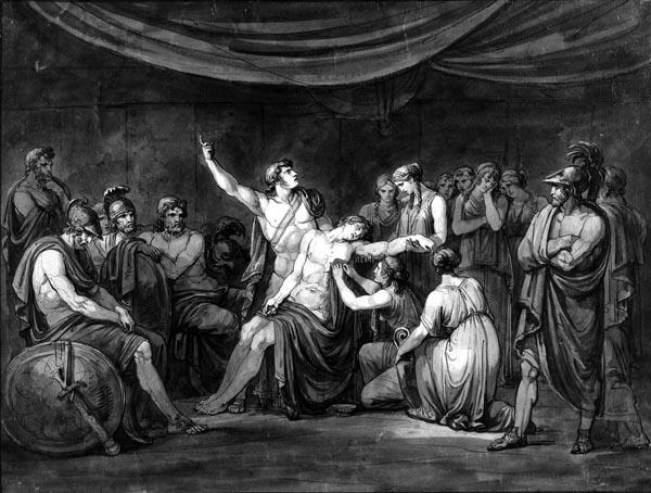 Achilles Swears an Oath