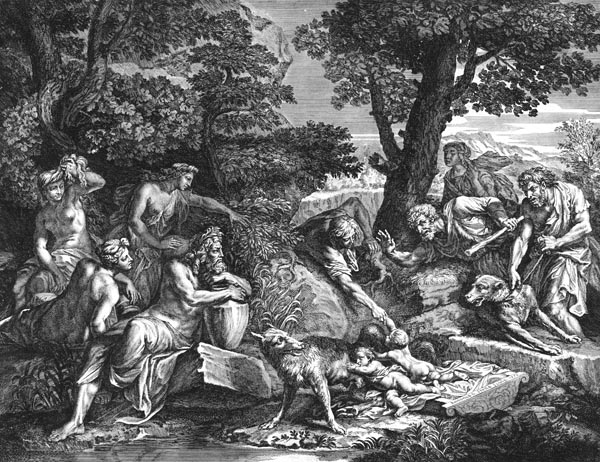 The Discovery of Romulus and Remus