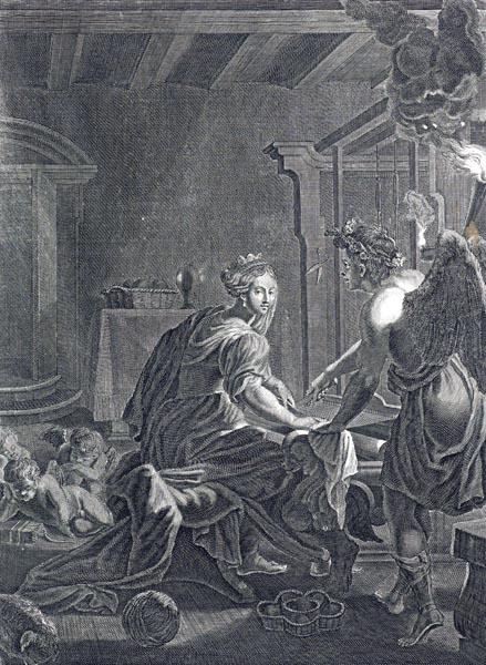 Penelope Weaves the Shroud for Laertes
