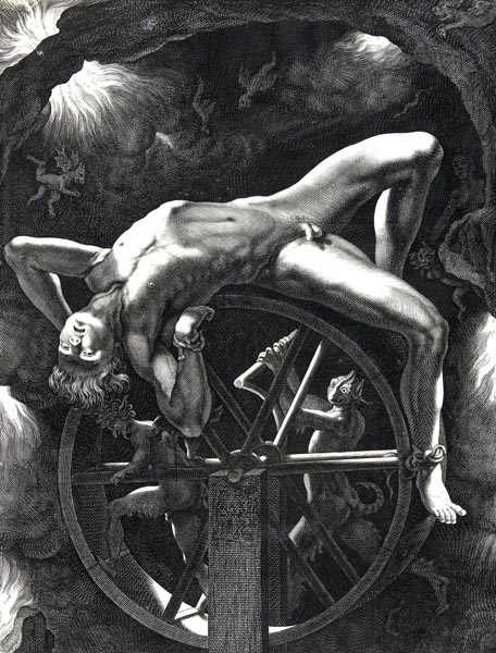 Ixion on the Wheel