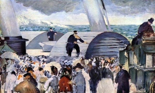Embarquement de Folkestone