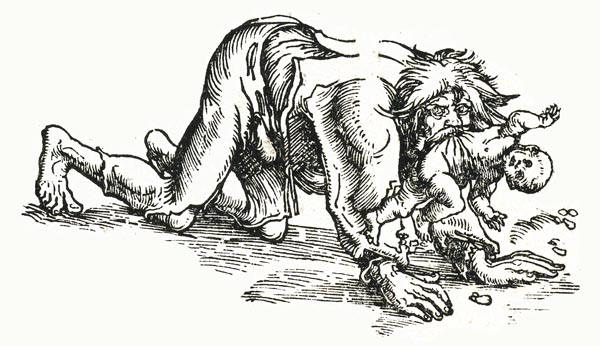 Werewolf with Child