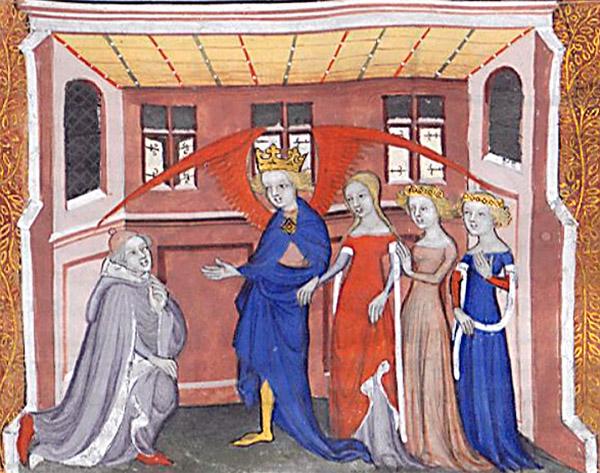 Guillaume de Machaut et Amour