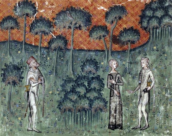 Œuvres poétiques de Guillaume de Machaut, folio 1.