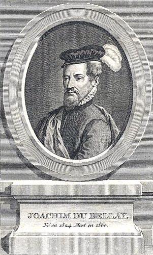 Joachim du Bellay, French Renaissance poet 16th century