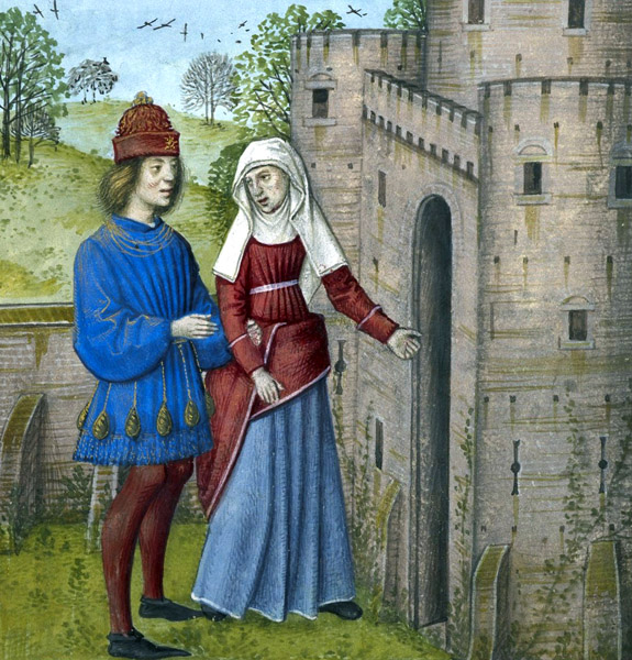 The Lover enters the castle of Jealousy