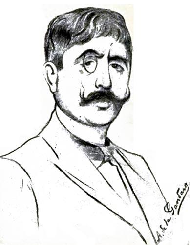 Jean Moréas by Antonio de La Gandara