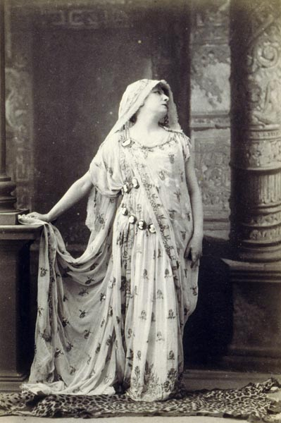 Sarah Bernhardt in the role of Racine's Phèdre