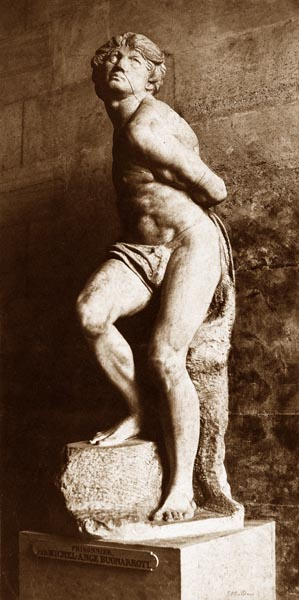The Prisoner, by Michelangelo