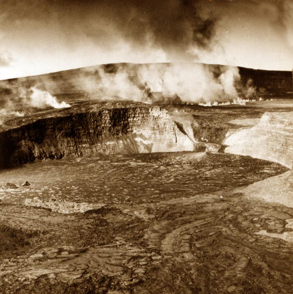 The Crater of Mauna Loa, Hawaii