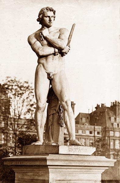 Spartacus, Tuileries Gardens, Paris