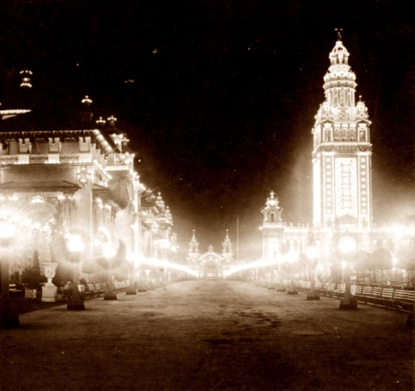 Eventide at the Pan American Exposition