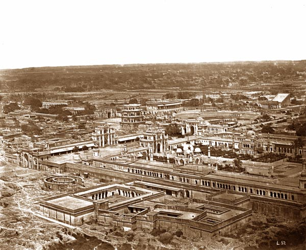 General View of Hosainabad and Its Vicinity, Taken from the Jumma Musjid