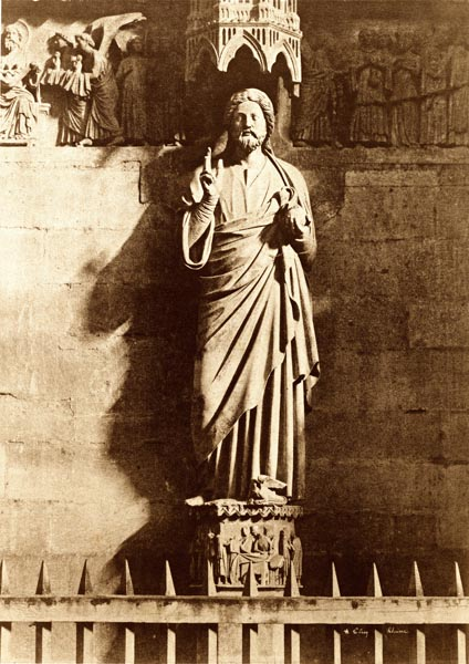 Statue of Christ, Reims Cathedral