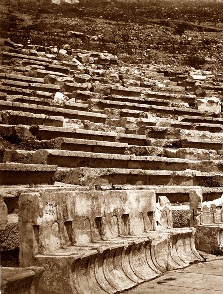 Theater of Dionysius, Athens [Detail]