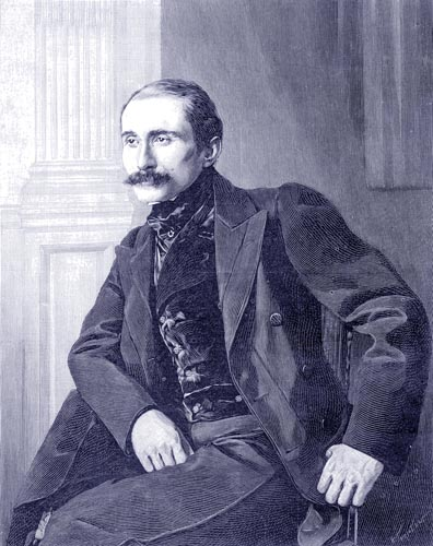 Edmond Rostand, Aged 29, at the First Performance of Cyrano de Bergerac