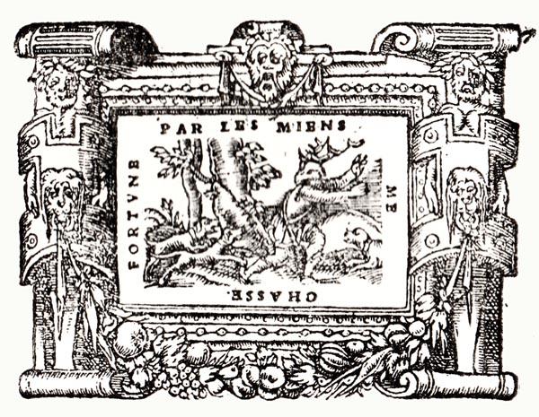 Emblem XIX: Actaeon