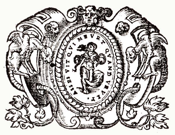 Emblem XXX:Cleopatra and her Asps