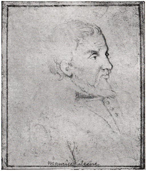 Portrait of Scève