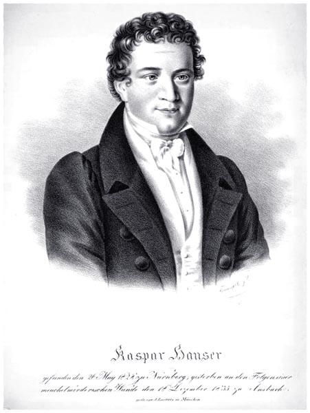 Hauser, Kaspar, 1812-1833