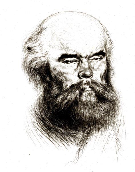 Portrait of Paul Verlaine