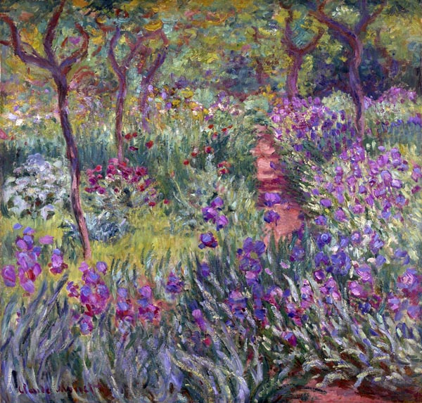 The Artist's Garden in Giverny
