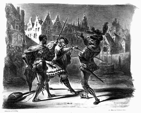 The Duel between Faust and Valentine