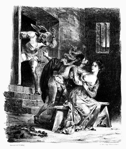 Faust in Marguerite's Prison