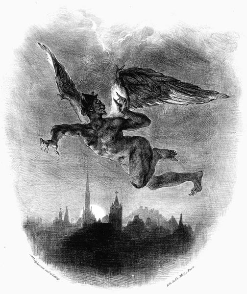 Mephistopheles in the Skies