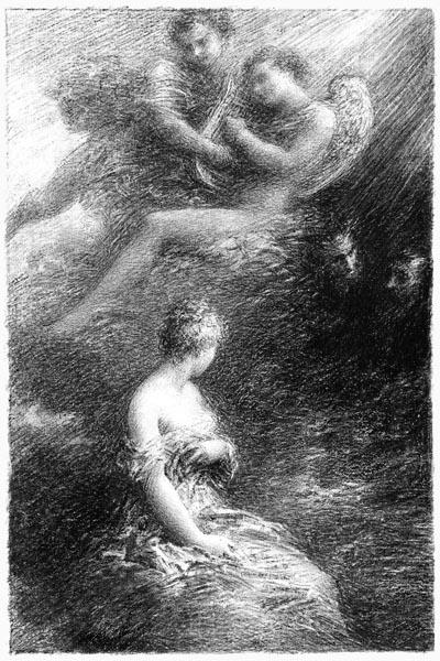 The Apparition ofMarguerite, Henri Fantin-Latour