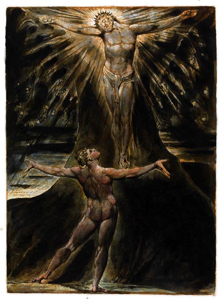 Jerusalem - The Emanation of the Giant Albion, Plate 27, William Blake
