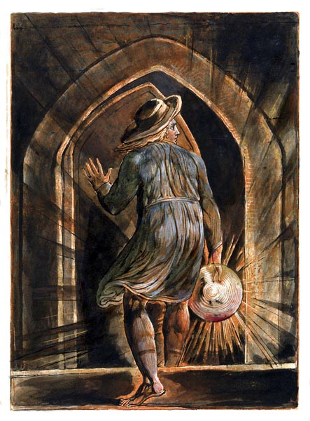 Jerusalem - The Emanation of the Giant Albion, Plate 1, William Blake