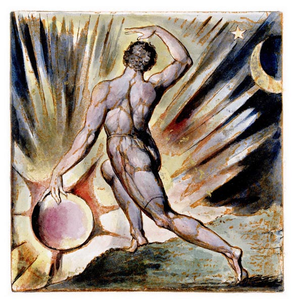 Jerusalem - The Emanation of the Giant Albion, Plate 97, William Blake