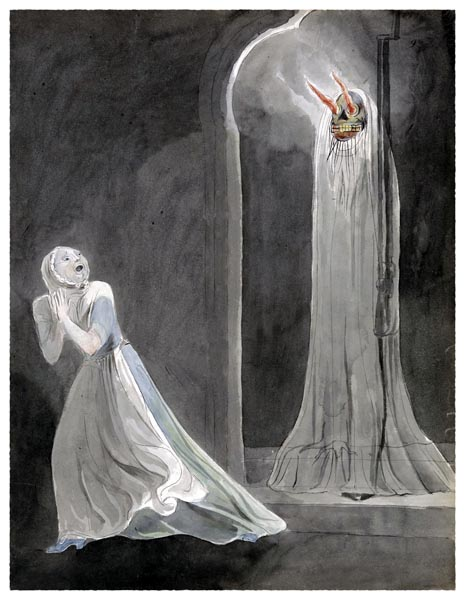 The Poems of Thomas Gray, Design 32 [Adaptation], William Blake