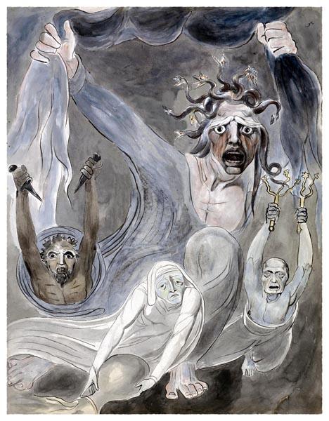 The Poems of Thomas Gray, Design 32 [Adaptation], William Blake