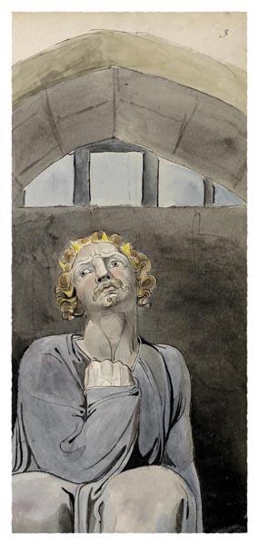 The Poems of Thomas Gray, Design 37 [Detail], William Blake