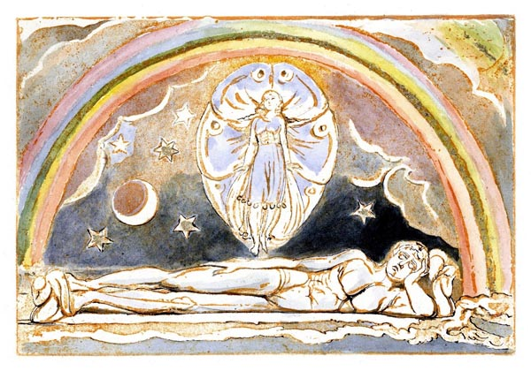 Jerusalem: The Emanation of The Giant Albion, Plate 14 [Detail], William Blake