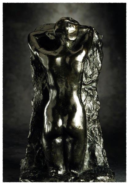 La Douleur (de La Porte), Auguste Rodin