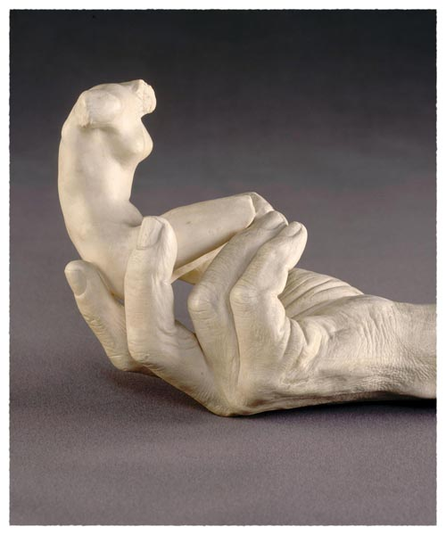 Hand of Rodin with a Female Figure, Auguste Rodin