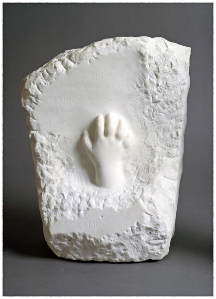 Memorial Relief (Hand of a Child), Auguste Rodin