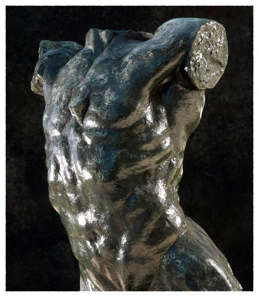 Torso of The Falling Man, Auguste Rodin